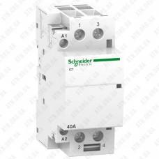 Модульный контактор iCT Acti9 40A 2Н.O 230V Schneider