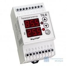 Терморегулятор (Бытовой терморегулятор) ТК-6 DigiTOP