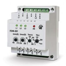 Универсальный автоматический электронный переключатель фаз ПЭФ-301 Novatek-electro