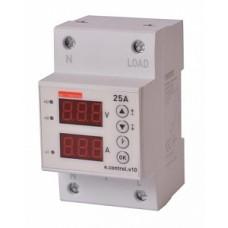 Реле контр. напр. и тока e.control.v10 E.NEXT
