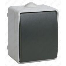 Выключатель кнопочный для открытой установки 10 А/250 В~ ВСк20-1-0-ФСр IEK