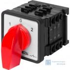Пакетный переключатель LK25/3.323-SP/45 щитовой, на DIN - рейку, 3p, 1-0-2, 25А, IP44  E.Next