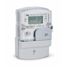 Электросчетчик 1ф НІК 2102-01 ЕТ2 1,0 220В (5-60)А  (электронный) Многотар. Актив. Ник