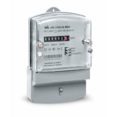 Электросчетчик 1ф НІК 2102-02 1,0 220В (5-60)А  (электромеханический) М1В Актив. Ник