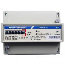Электросчетчик 3ф однотарифный (актив. энерг.) ЦЭ6804-U/1 МР32 (10-100А) Энергомера