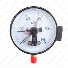 Манометр электроконтактный ДМ Сг 05160 - 250кПа - 1,5 - 01М Украина