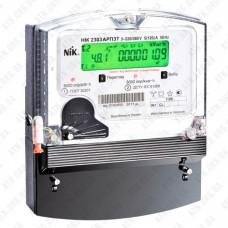 Электросчетчик 3Ф НІК 2303 (5-120А) 3х220В/380В, ARP3.1000.MC.11  Актив./Реактив. Ник