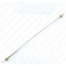 Нержавеющий гибкий прямой ТЭН Ø 8 мм / 2 кВт / штуцер латунный М14 / 70 см разв. дл. SANAL (Турция)