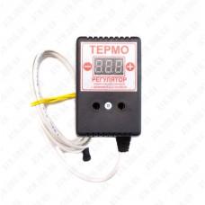 Терморегулятор цифровой ЦТРД-2д (-55-125 С°) 10А розетк. 2-х порог.