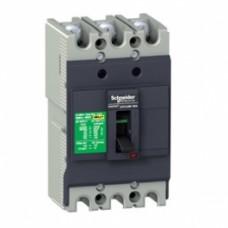 Автоматический выключатель 3-х полюсный Schneider EZC100N  100А