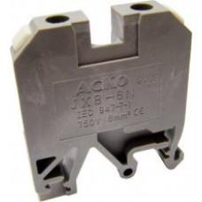 Клеммник наборной JXB 6/35 на DIN  АСКО