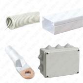 Монтажные изделия для силовых и осветительных сетей