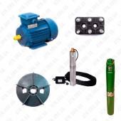 Насосы погружные, Электродвигатели и комплектующие