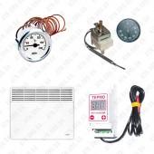 Электронагреватели, тёплый пол, терморегуляторы, термометры, гильзы