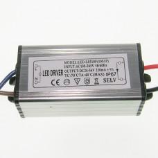 Драйвер светодиодный 10 Вт 100-265В 220мА 30х30х20Китай
