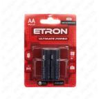 Аккумулятор AA/HR6-R2U-2500 1,2V 1510 (никель-металгидрид) ETRON