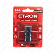 Аккумулятор AAA/HR03-R2U-1000 1,2V 1534 (никель-металгидрид) ETRON