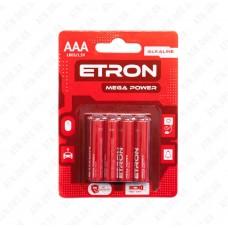 Батарейка AAA/LR03 1,5V ETRON