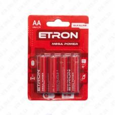 Батарейка AA/LR6 1,5V ETRON