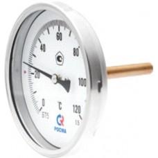 Термометр патронного типа ⌀65мм / (0...+120) / 5см