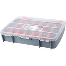 Органайзер-кейс пластиковый, e.toolbox.05, 380х310х70мм E.NEXT