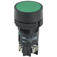 "Кнопка SВ-7 ""Пуск"" зеленая 1з+1р d=22мм/240В IEK"