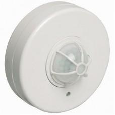 Датчик движения ДД 024 белый, макс. нагрузка 1100Вт, угол обзора 120-360гра, дальность 6м, IP33, IEK