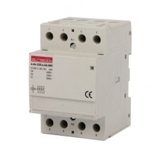 Модульный контактор e.mc.220.4.40.4NO, 4р, 40А, 4NO, 220 В  E.NEXT
