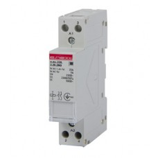 Модульный контактор e.mc.220.2.25.2NC, 2р, 25А, 2NC, 220 В  E.NEXT