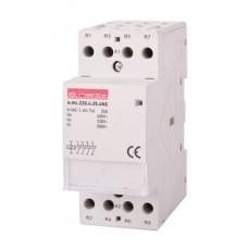 Модульный контактор e.mc.220.2.25.4NO, 4р, 25А, 4NO, 220 В  E.NEXT