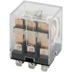 Реле промежуточное e.control.p1032, 10А, 12В AC, на 3 группы контактов (LY3) E.NEXT