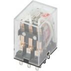 Реле промежуточное с LED-индикацией e.control.p536L, 5А, 230В AC, на 3 группы контактов (MY3) E.NEXT