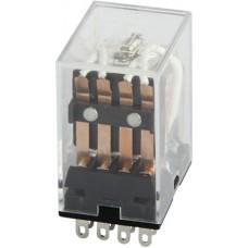 Реле промежуточное e.control.p344, 3А, 24В AC, на 4 группы контактов (MY4) E.NEXT
