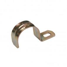 Скобы кабельные металл СМА 21-22мм (однолапковые) IEK