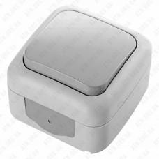 Выключатель Palmiye 1кл. открытой установки (полугерм.) IP54 Viko