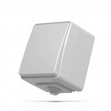 VIDEX BINERA IP65 Выключатель наружный 1кл серый